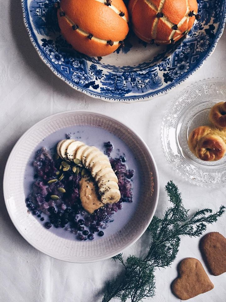 blueberry-nut-porridge