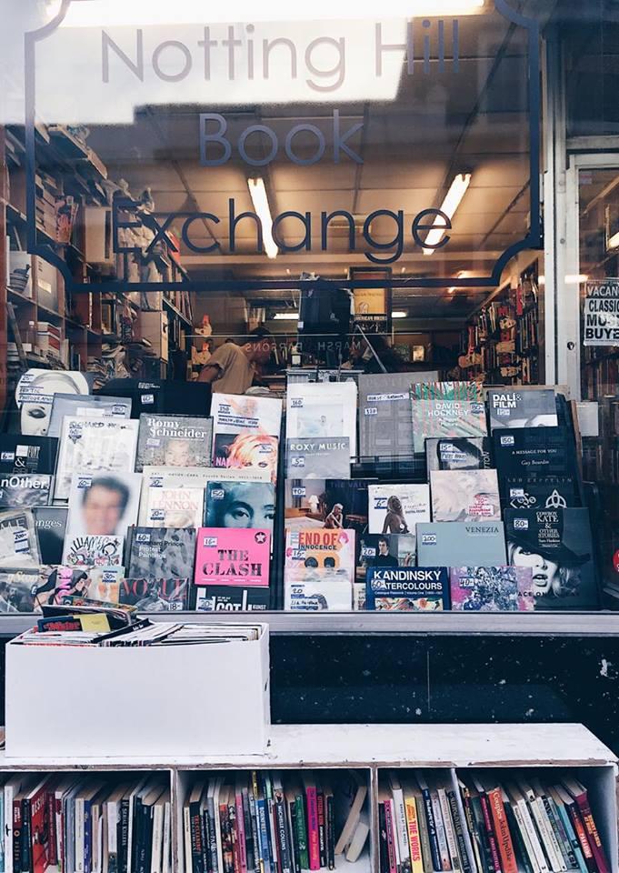 Notting Hill bookstore