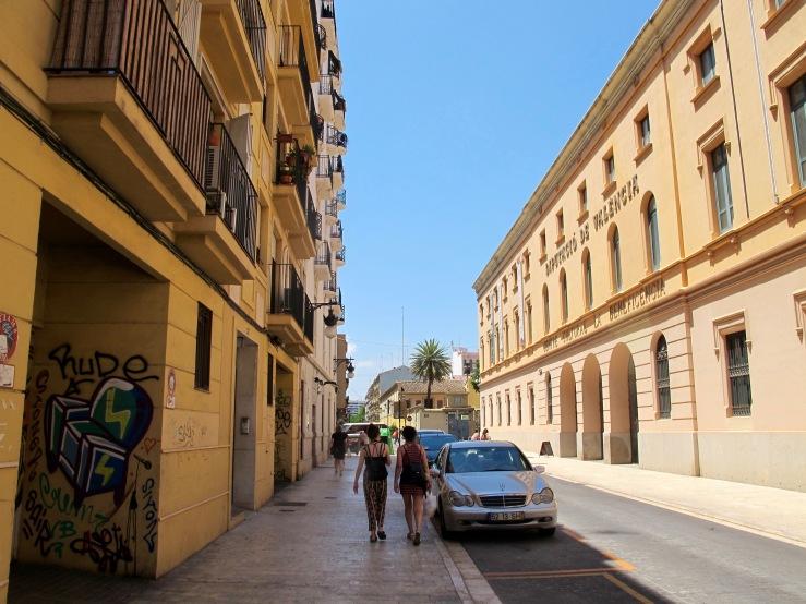 Valencia Streets 5