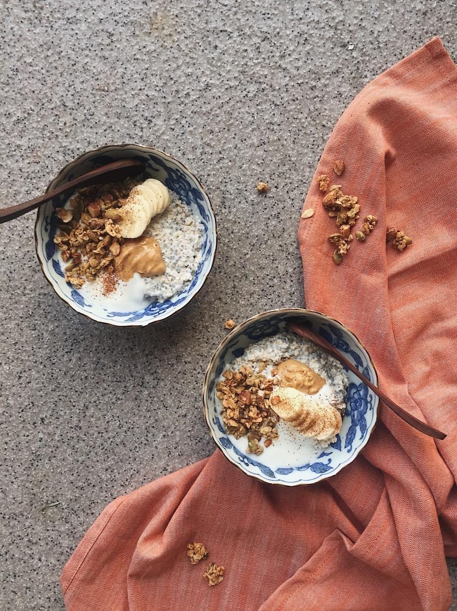 Spiced maple + buckwheat granola – FELICIA EMMA